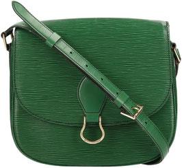 Louis Vuitton Saint Cloud GM Umhängetasche aus Epi Leder in Borneo Grün