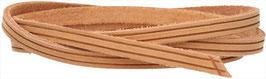 Zugband aus naturbelassenem Rindsleder in Mittelbraun passend für Noe, Montsouris