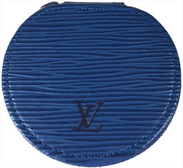 Louis Vuitton Ecrin PM Schmuckschatulle aus Epi Leder in Toledo Blau