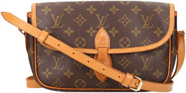 Louis Vuitton Gibeciere Umhängetasche aus Monogram Canvas
