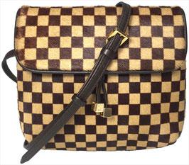 Louis Vuitton Gazelle Umhängetasche aus Damier Sauvage Leder