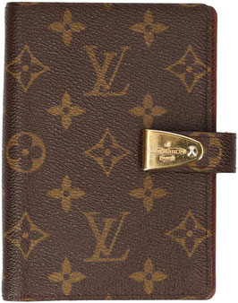 Louis Vuitton Agenda Partenaire aus Monogram Canvas