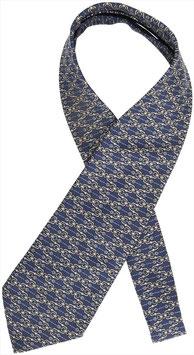 Hermès Krawatte aus Seide in Blau