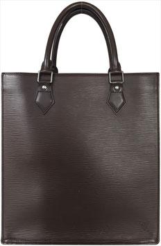 Louis Vuitton Sac Plat PM Henkeltasche aus Epi Leder in Mokka Braun