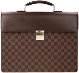 Louis Vuitton Altona PM Aktentasche aus Damier Ebene Canvas