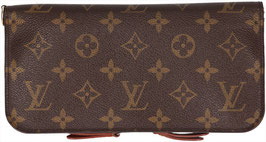 Louis Vuitton Portefeuille Insolite Geldbörse aus Monogram Canvas