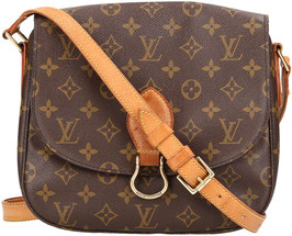 Louis Vuitton Saint Cloud GM Umhängetasche aus Monogram Canvas