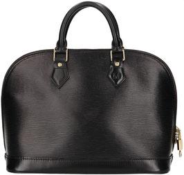 Louis Vuitton Alma PM Henkeltasche aus Epi Leder in Kouril Schwarz