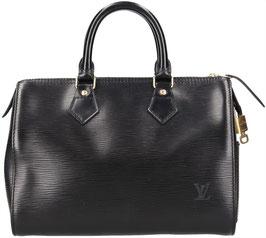 Louis Vuitton Speedy 25 Henkeltasche aus Epi Leder in Kouril Schwarz