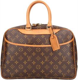 Louis Vuitton Deauville Reisetasche/Handtasche aus Monogram Canvas