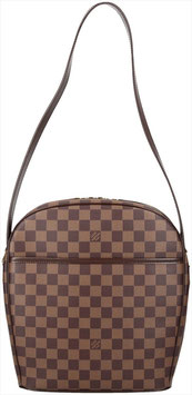 Louis Vuitton Ipanema GM Schultertasche aus Damier Ebene Canvas