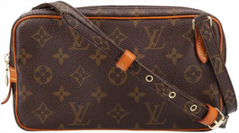 Louis Vuitton Pochette Marly Bandoulière Umhängetasche aus Monogram Canvas