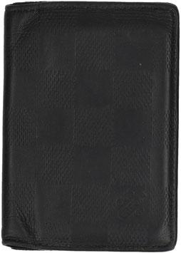 Louis Vuitton Kartenetui Taschen Organizer aus Damier Infini Leder in Onyx