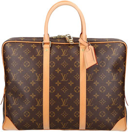 Louis Vuitton Porte-Documents Voyage Aktentasche aus Monogram Canvas