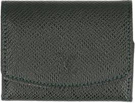 Louis Vuitton Etui für Manschettenknöpfe aus Taiga Leder in Epicea
