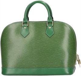 Louis Vuitton Alma PM Henkeltasche aus Epi Leder in Borneo Grün