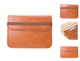 Adento MacBook Air / Ultrabook Ledertasche