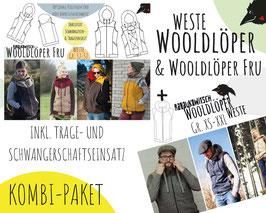 Wooldlöper + Wooldlöper Fru (inkl. Trage- und Schwangereneinsatz)