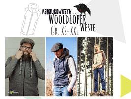 Wooldlöper Weste Gr. XS-XXL