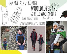Wooldlöper Fru (inkl. Trage- und Schwangereneinsatz) + Lille Wooldlöper