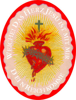Der Herz Jesu Schild