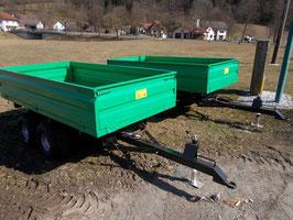 4-Tonnen Kleinkipper Tandem