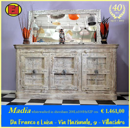 Madia white washed - pezzo unico