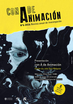 CON A DE ANIMACIÓN #6. ESPECIAL MOTION GRAPHICS