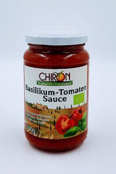 CHIRON BIO BASILIKUM - TOMATEN - SAUCE        (  VEGAN  )