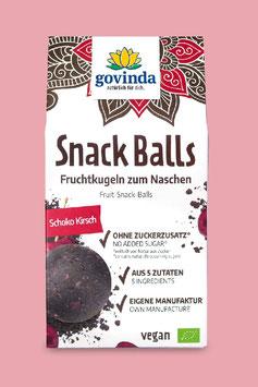 """GOVINDA SNACK BALLS  """" SCHOKO KIRSCH """"     BIO UND VEGAN"""
