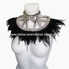 'Couture Noire II' collar