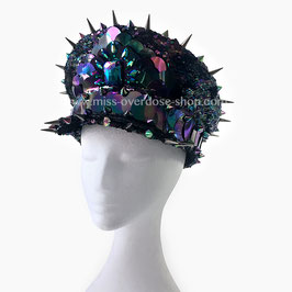 'Oil slick' officer hat