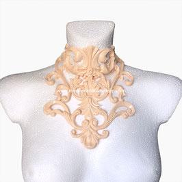 'Baroque' latex collar