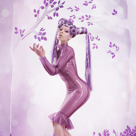 """Passionate garden"" wig"