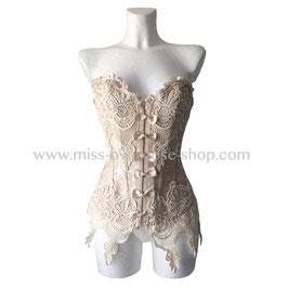 'Ivory Love' corset