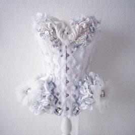 'Albino Baroque' corset
