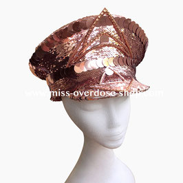 'Rose Gold' officer hat