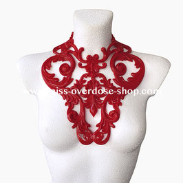 'L'Amour' latex collar