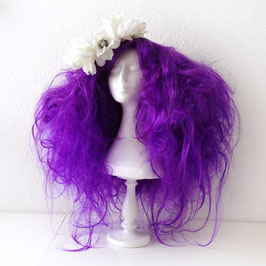 'Purple passion' wig