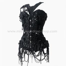 'Burlesque Noire' corset