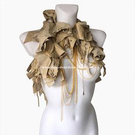 'Zoe' collar/ shrug
