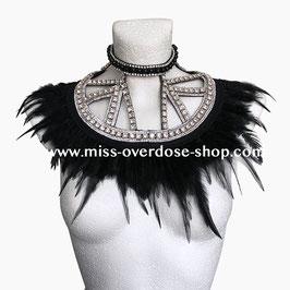'Couture Noire' collar