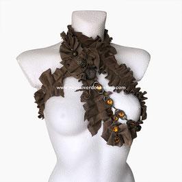 'Amber' collar/ shrug