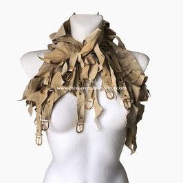 'Dune' collar/ shrug