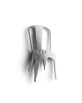 BROOCH - Tolix A Chair | Xavier Pauchard
