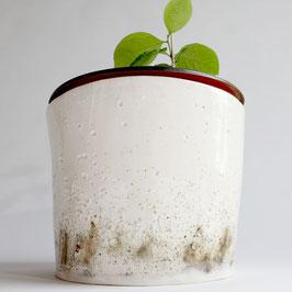 Porzellanpflanzgefäß