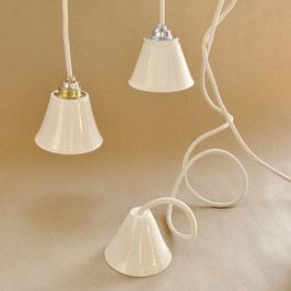 Leuchtenbausatz die mit der silbernen Fassung
