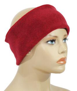 Stirnband Fleece rot Paula