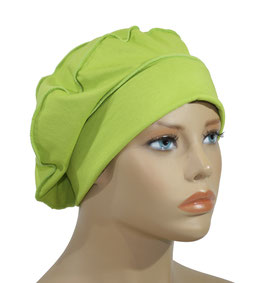 Ballonmütze Baskenmütze grün Reina