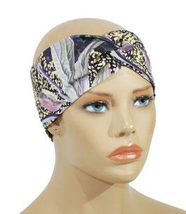 Damen Stirnband Turbanstirnband fliederton Sita